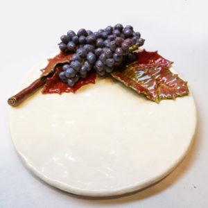 Assiette à dessert Baies de Mahonia