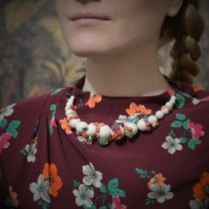 Collier de Perles de culture abîmées
