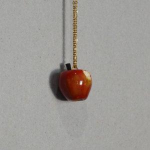 Collier Pomme croquée #1