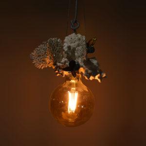 Lampe à suspendre «Papillons engloutis»