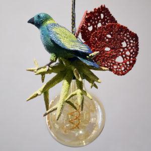 Lampe à suspendre «Comme un oiseau dans l'eau» #1