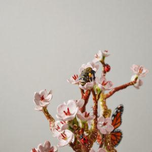 """Lampe à poser """"Un cerisier en automne"""""""